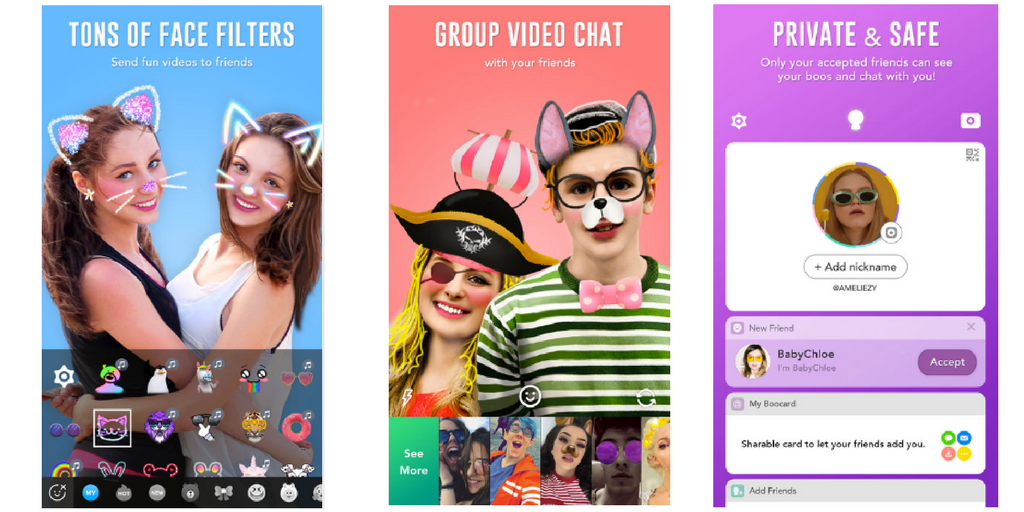 Boo Video Camera App